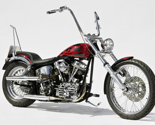 Old School Chopper Panhead